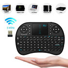 Rii i8 Mini 2.4Ghz Wireless Keyboard Touchpad For PC Smart TV  Xbox 360 PS3 PS4