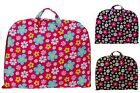 Floral Cotton Quilted Lightweight Garment Bag Carry On Luggage Overnight Travel