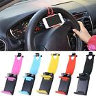 Mount Clip on Car Steering Wheel Mobile Phone Holder Buckle  Socket for iphone 6