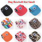 Dog Puppy Baseball Sunbonnet Topee Summer Pet Outdoor Visor Hat Peaked Cap