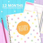 My Foody Diary: Fitness Tracker food diary (12 months) food planner,  wearables