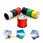 500M 6 Colors Strong Fishing Line Multifilament PE Braided Lines Strands Wire 1P