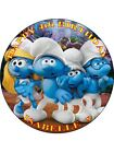 SMURFS PERSONALIZED ICING CAKE TOPPER'S VARIOUS SIZES
