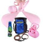 Pet Supplies Dog Traction Collar Suit Food Bag IN945 Water Drinking Kettle Best