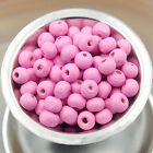 Lots Fashion  500/1000pc  Round Natural Wood Ball Spacer Loose Beads 4mm 8mm