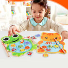 Kids Baby Children Magnetic Fishing Game Puzzle Wooden Educational Toy Chic Gift