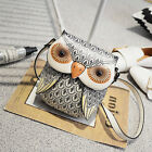 Owl Diagonal Package Female Women Messenger Bag Korean Mini-chain Shoulder Bags