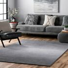 nuLOOM Hand Tufted Ombre Bernetta Grey Area Rug