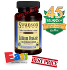 Lithium Orotate From Swanson *Best Price from £4.95 per bottle for a short time