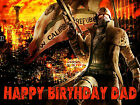 FALLOUT COMPUTER GAME NEW VEGAS Party Cake Decoration icing sheet personalised