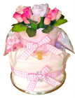 BABY GIFT Blooming Fabulous Nappy Cake With Johnson's