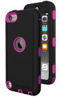 Apple iTouch ExosArmor Tough Cover Hybrid Shell w Screen Protector
