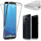 For Samsung Galaxy S8/S8 Plus Clear TPU Full Body Cover Case Skin Protective