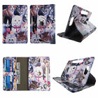 For Ellipsis 8 inch Verizon PU Leather Slim Folio Stand ID Slots Cover Case we-9