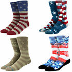 MENS STANCE PATRIOTIC COLLECTION ATHLETIC CLASSIC CREW SOCKS