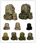 NEW 55L Molle Outdoor Military Tactical Bag Camping Hiking Trekking Backpack hot