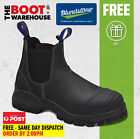 Blundstone 990 Black Safety Pull On Work Boot. 30 DAY COMFORT GUARANTEE