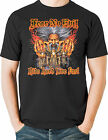 Fear No Evil Biker Wizard T Shirt Mens Size Small to 6X Tall Free Shipping