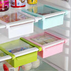 Kitchenette Fridge Space Saver Storage DIY Slide Under Shelf Rack Organizer HolderUS