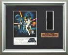 STAR WARS - A New Hope (b)   Mark Hamill - Carrie Fisher   FRAMED FILM CELL
