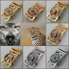 High Quality Fashion Literature 3D Animal Alloy Automatic Buckle For 35mm Belt