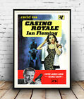 Casino Royale :  Vintage James Bond book cover ,  Poster reproduction. £10.99 GBP on eBay