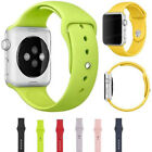 Band for Apple Watch Strap Replacement 38mm/42mm Silicone Sports Watch Wrist