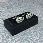 Beautiful Wedding Cufflinks FATHER OF THE BRIDE Gift Boxed Stunning Present