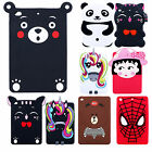 Cartoon 3d Silicone Soft Back Dirt-proof Case Cover For Apple Ipad Mini 1 2 3/4
