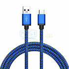 Lot USB Type C Cable Fast Charger Cable Data Cord for Samsung S10 S9/S9 Plus LG