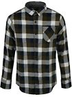 Brave Soul Persuader Men's Checked Black & White Shirt