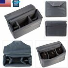 Waterproof DSLR SLR Camera Insert Bag Case Inner Protect Cover Partition Padded