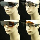 Polarized fit over flip up lens sunglasses glasses new drive fish cover all