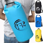 10L 20L Dry Bag Waterproof Roll Top Type Duffel Bag Backpack Grab Handle Strap G