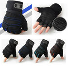 Men Women Weight lifting Gym Gloves Trainer Wrist Wrap Exercise Fitness Sports