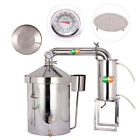 32L-160L New Stainless Home Moonshine Still Water Distiller Alcohol Oil Brew Kit