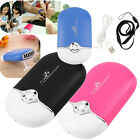 Rechargeable Portable Mini Handheld Air Conditioning Cooling Fan USB BG