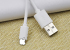 WHITE Android USB Sync & Charger Cable For Sumsung Sony LG Bluebarry Huawei OPPO
