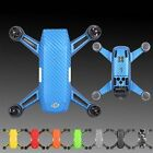 Waterproof Carbon Fiber Skin Cover Sticker Parts for Drone DJI Spark Stickers US