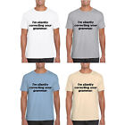 mens t shirt MARENO short sleeved i'm silently correcting your grammar print