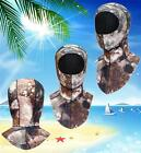 3mm SCR Camo Spear Fishing Hood Dive Vented Bib Hood Wetsuit