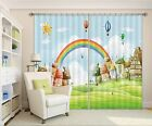 3D Rainbow 79 Blockout Photo Curtain Printing Curtains Drapes Fabric Window AU