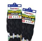 "Внешний вид - AFRICANA BRAID 84"" - FREETRESS SYNTHETIC HAIR 100% KANEKALON JUMBO BRAID"
