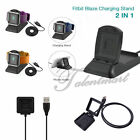 USB Power Charger Cable Battery Charge Dock Cradles For Fitbit Blaze Smart Watch