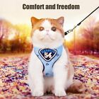 Pet Kitten Vest Harness Leashes Suit Safe Control Easy Walking For Cat BR