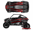 Polaris 800 rzr Burnout Checkerd Flag Design Decal Graphic Kit Wraps Graphics