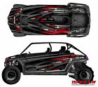 2008+ Polaris 4 RZR 800 xp Design Loaded Decal Graphic Kit Wraps Hood Scoop