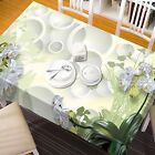 3D Flower 7453 Tablecloth Table Cover Cloth Birthday Party Event AJ WALLPAPER CA