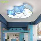 baby room light fixture - Star Moon Light Fixture Kids Room Ceiling Lamp LED Baby Bedroom Light New