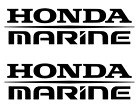 Honda Marine Stickers 2X Decal Boat outboard fishing Many Colors Free Shipping